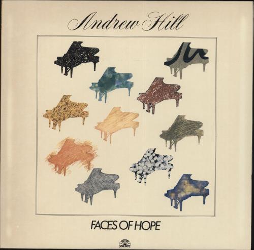 Andrew Hill Faces Of Hope vinyl LP album (LP record) Italian A2TLPFA707347