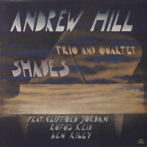 Andrew Hill Shades vinyl LP album (LP record) Italian A2TLPSH583715