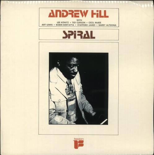 Andrew Hill Spiral vinyl LP album (LP record) UK A2TLPSP707349