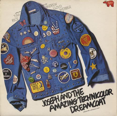 Andrew Lloyd Webber & Tim Rice Joseph And The Amazing Technicolor Dreamcoat + Insert vinyl LP album (LP record) UK A6HLPJO447374