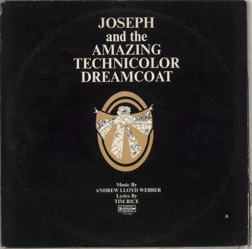 Andrew Lloyd Webber & Tim Rice Joseph And The Amazing Technicolor Dreamcoat vinyl LP album (LP record) US A6HLPJO712284