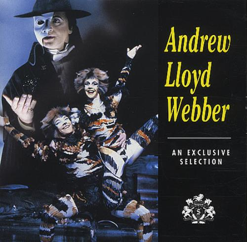 Andrew Lloyd Webber An Exclusive Selection CD album (CDLP) US ALWCDAN218500