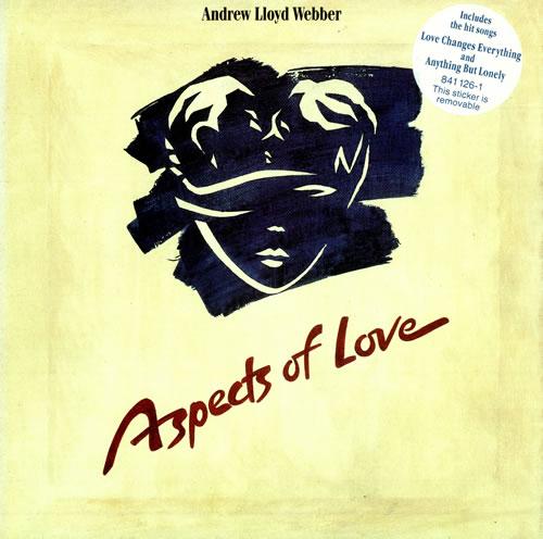 Andrew Lloyd Webber Aspects Of Love 2-LP vinyl record set (Double Album) UK ALW2LAS348619