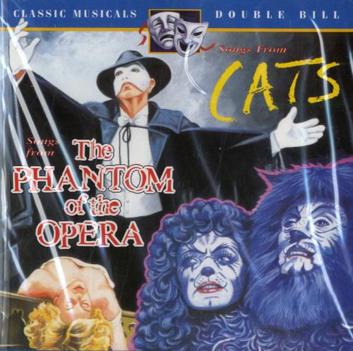 Andrew Lloyd Webber Phantom Of The Opera & Cats 2 CD album set (Double CD) German ALW2CPH54988