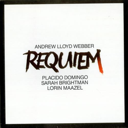 Andrew Lloyd Webber Requiem vinyl LP album (LP record) UK ALWLPRE527098