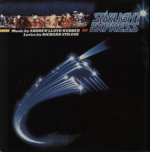 Andrew Lloyd Webber Starlight Express 2-LP vinyl record set (Double Album) UK ALW2LST616353