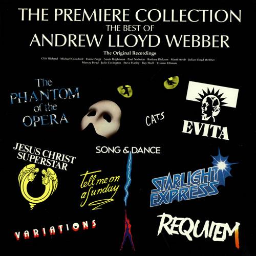 Andrew Lloyd Webber The Premiere Collection vinyl LP album (LP record) UK ALWLPTH495545