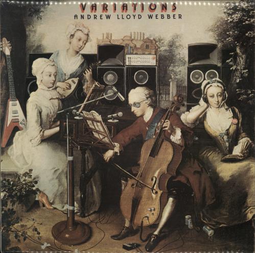 Andrew Lloyd Webber Variations - 1st vinyl LP album (LP record) UK ALWLPVA240310
