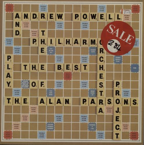 Andrew Powell The Best Of The Alan Parsons Project vinyl LP album (LP record) UK G35LPTH626152