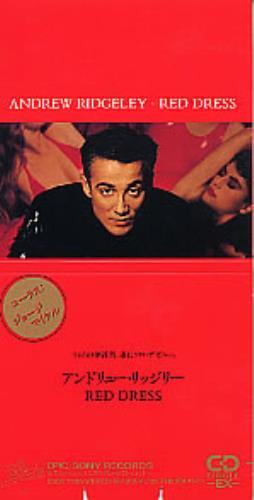 "Andrew Ridgeley Red Dress 3"" CD single (CD3) Japanese RDGC3RE135732"