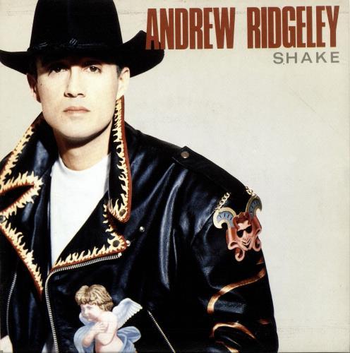 "Andrew Ridgeley Shake 7"" vinyl single (7 inch record) Spanish RDG07SH59437"