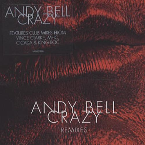 Andy Bell (80s) Crazy UK 2-CD single set (Double CD single) (336811)