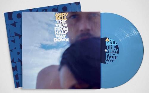 Andy Bell (90s) The View From Half Way Down - Blue Vinyl - Sealed vinyl LP album (LP record) UK FZNLPTH753927