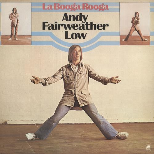 Andy Fairweather-Low La Booga Rooga vinyl LP album (LP record) UK AFLLPLA268563