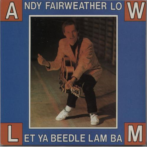 "Andy Fairweather-Low Le Ya Beedle-Lam-Bam 7"" vinyl single (7 inch record) UK AFL07LE672517"