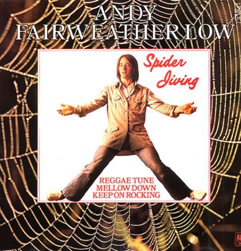 Andy Fairweather-Low Spider Jiving vinyl LP album (LP record) UK AFLLPSP341316
