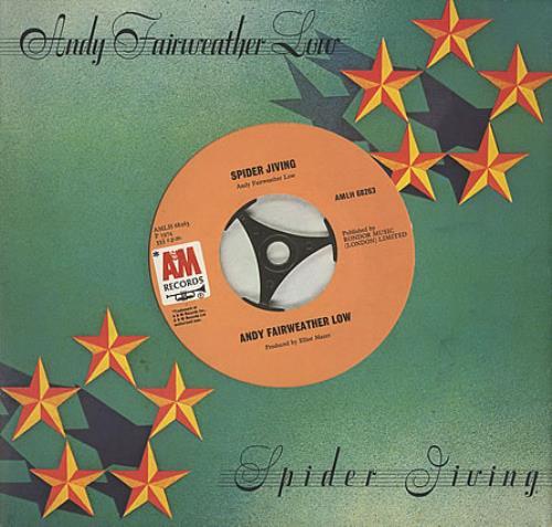 Andy Fairweather-Low Spider Jiving vinyl LP album (LP record) UK AFLLPSP401194