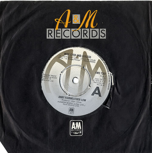 """Andy Fairweather-Low Wide Eyed And Legless - 4-pr 7"""" vinyl single (7 inch record) UK AFL07WI589536"""