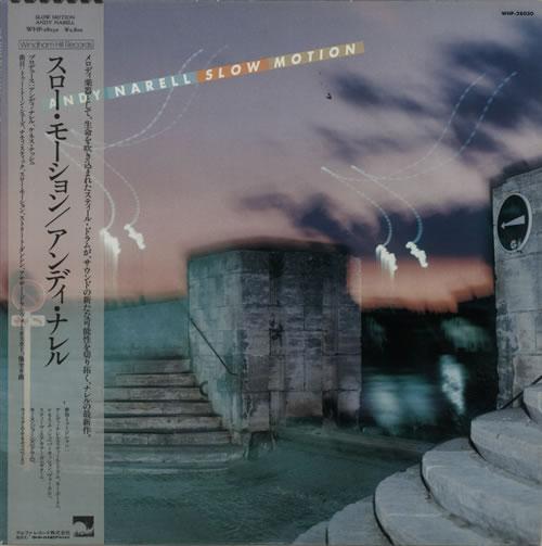Andy Narell Slow Motion vinyl LP album (LP record) Japanese A5JLPSL627532