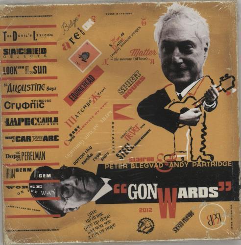 Andy Partridge Gonwards - Sealed CD album (CDLP) UK XTACDGO752666