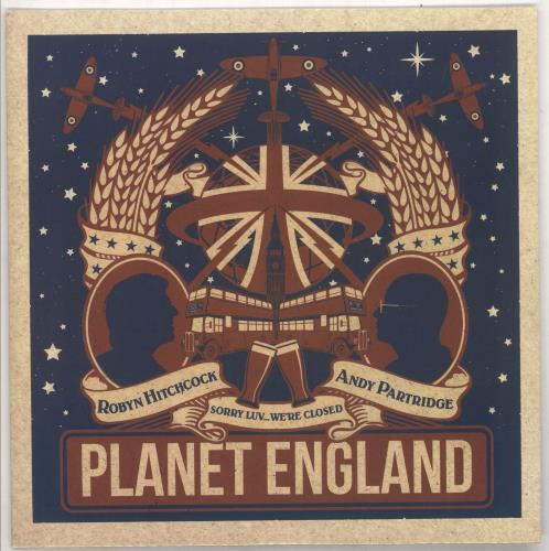 "Andy Partridge Planet England EP - Sealed 10"" vinyl single (10"" record) UK XTA10PL729452"