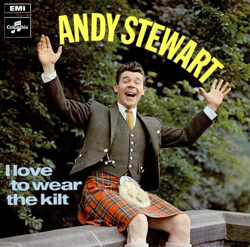 Andy Stewart I Love To Wear The Kilt vinyl LP album (LP record) UK ASXLPIL462129
