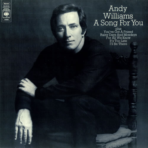 It S Day Eight Of Jurassicjune Today I Ve Illustrated: Andy Williams A Song For You UK Vinyl LP Album (LP Record