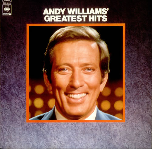 Andy Williams Andy Williams Greatest Hits Japanese Vinyl