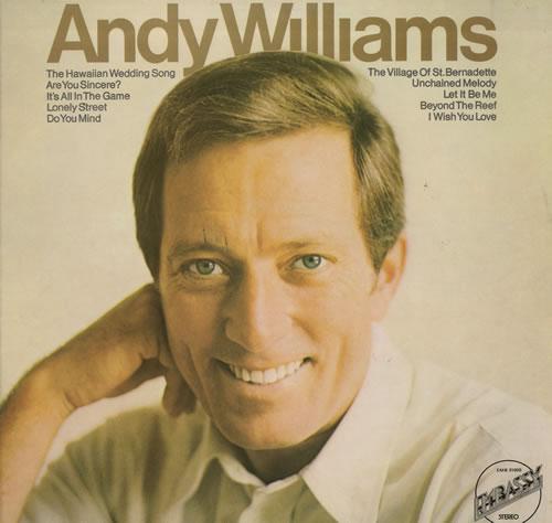 Andy Williams Andy Williams vinyl LP album (LP record) UK AWILPAN563763