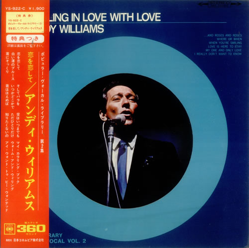 Andy Williams Falling In Love With Love - Selected Library Vol. 2 vinyl LP album (LP record) Japanese AWILPFA547540
