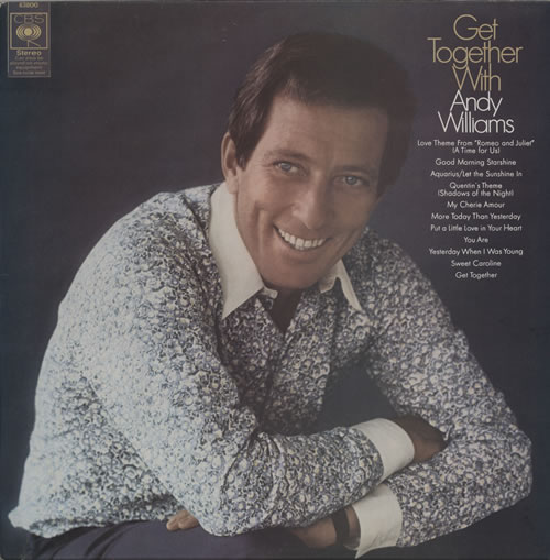 Andy Williams Get Together With Andy Williams vinyl LP album (LP record) UK AWILPGE569442