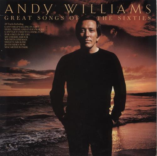 Andy Williams Great Songs Of The Sixties 2-LP vinyl record set (Double Album) UK AWI2LGR743076