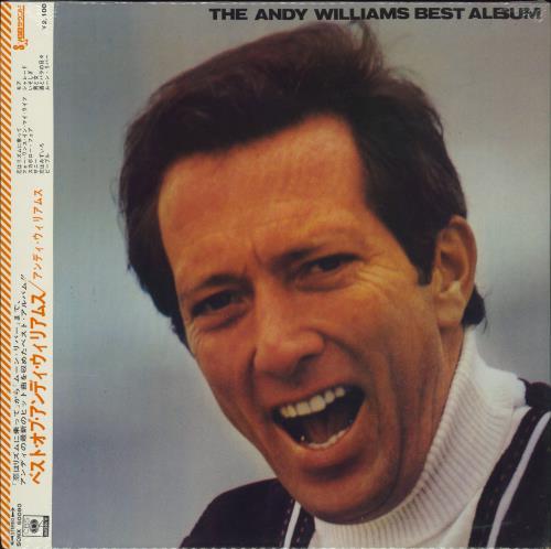 Andy Williams The Andy Williams Best Album - Sealed vinyl LP album (LP record) Japanese AWILPTH771350
