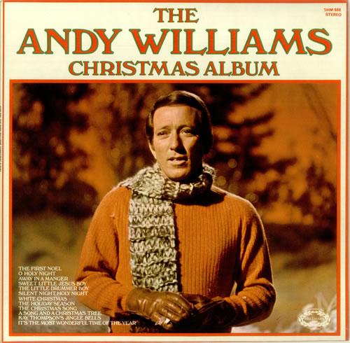 Andy Williams The Andy Williams Christmas Album vinyl LP album (LP record) UK AWILPTH457325