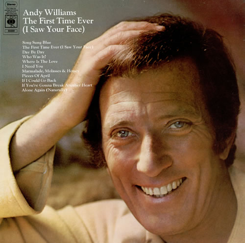 Andy Williams The First Time Ever (I Saw Your Face) vinyl LP album (LP record) UK AWILPTH240288
