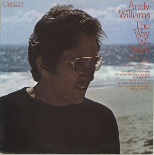 Andy Williams The Way We Were vinyl LP album (LP record) UK AWILPTH693883