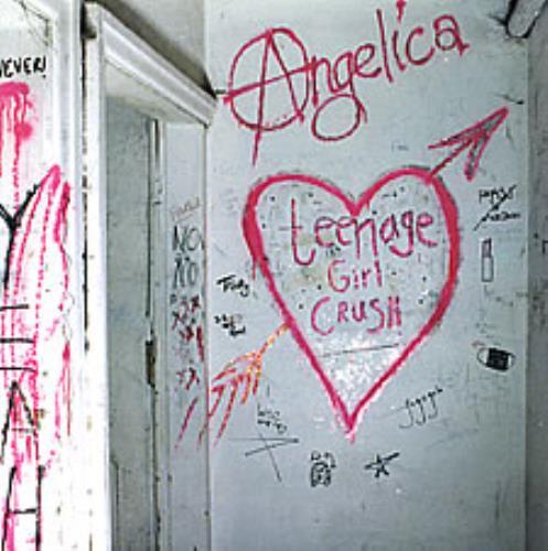 "Angelica Teenage Girl Crush 7"" vinyl single (7 inch record) UK GAN07TE272879"
