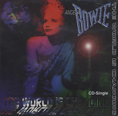 """Angie Bowie The World Is Changing CD single (CD5 / 5"""") US AOWC5TH395352"""