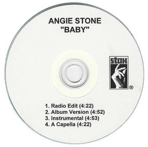 Angie Stone Baby CD-R acetate US GIECRBA412277