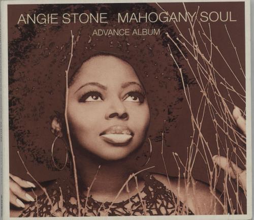 Angie Stone Mahogany Soul Advance Album CD album (CDLP) UK GIECDMA663492