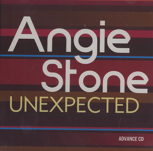 Angie Stone Unexpected CD-R acetate US GIECRUN492301