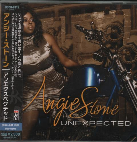 Angie Stone Unexpected CD album (CDLP) Japanese GIECDUN662048