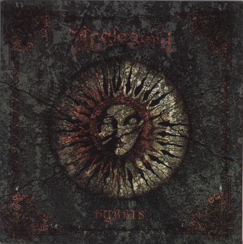 Anglagard Hybris + Booklet & Insert vinyl LP album (LP record) Norwegian 13YLPHY752984