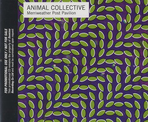 Animal Collective Merriweather Post Pavillion CD album (CDLP) UK AN6CDME493307