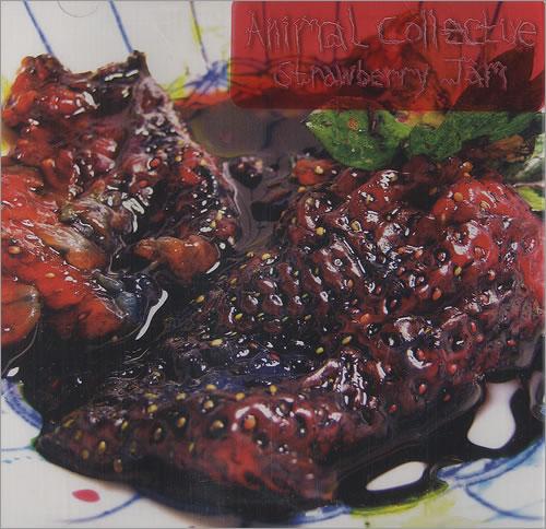 Animal Collective Strawberry Jam CD album (CDLP) US AN6CDST461924