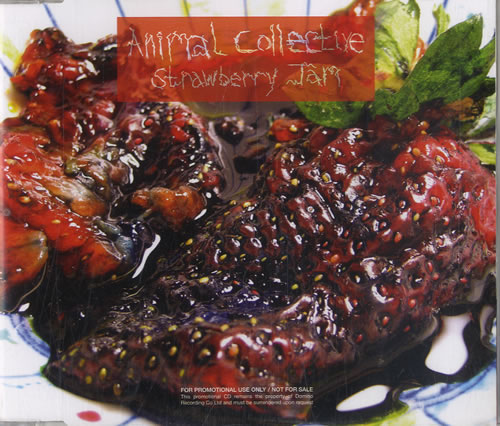Animal Collective Strawberry Jam CD album (CDLP) UK AN6CDST579773