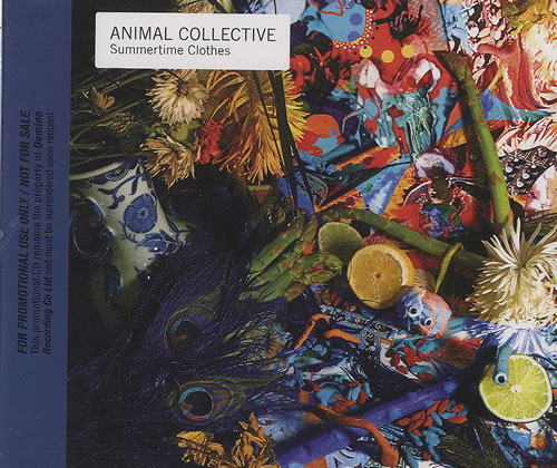 """Animal Collective Summertime Clothes CD single (CD5 / 5"""") UK AN6C5SU493311"""