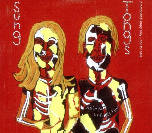 Animal Collective Sung Tongs CD album (CDLP) UK AN6CDSU499630