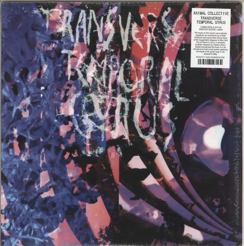 "Animal Collective Transverse Temporal Gyrus 12"" vinyl single (12 inch record / Maxi-single) UK AN612TR733633"