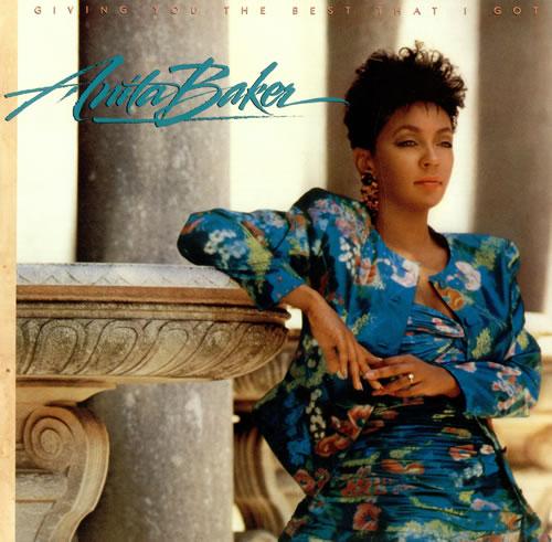 Anita Baker Giving You The Best That I Got vinyl LP album (LP record) UK ABALPGI240852